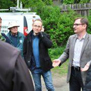 Foto mit Peter Koch und Gästen