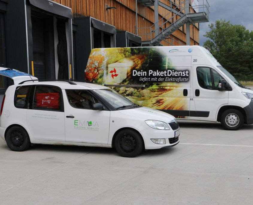 Citylogistik mit Elektromobilität Schachinger
